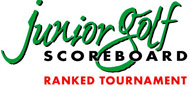 Junior Golf Scorecard